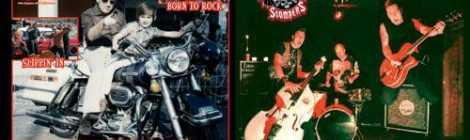 "WYLDFYRE / GRAVESTOMPERS ""Born To Rock"" zs-38"