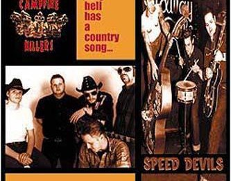 "CAMPFIRE KILLERS vs. SPEED DEVILS ""Only Hell Has a Country Song EP"" zs-13"